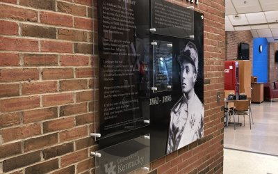 Isaac Murphy Wall for the University of Kentucky