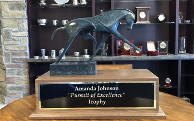 United States Dressage Federation Pursuit of Excellence Award