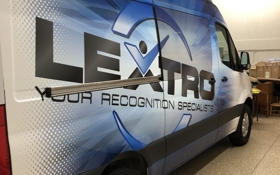 Wrapping a LEXTRO Delivery Van